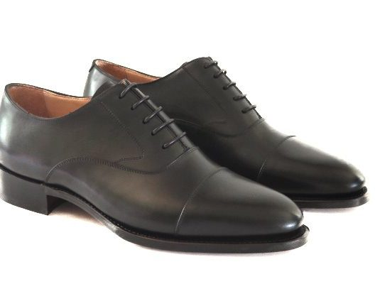 FSW001 – Black Captoe Oxford