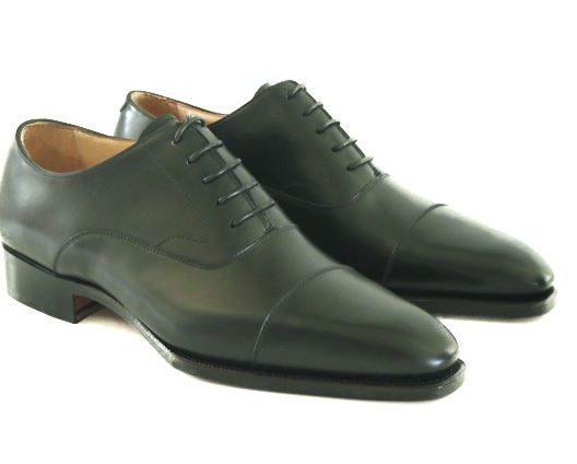 FSW002 – Black Captoe Oxford
