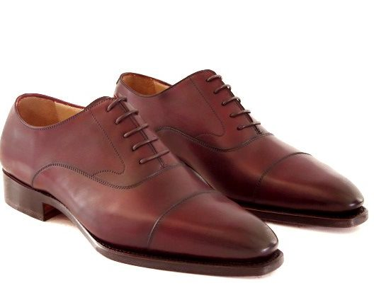 FSW002 – Burgundy Captoe Oxford