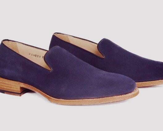 FSW020 – Navy Wholecut Loafers