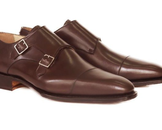 FSW014 – Dark Brown Double Monkstrap
