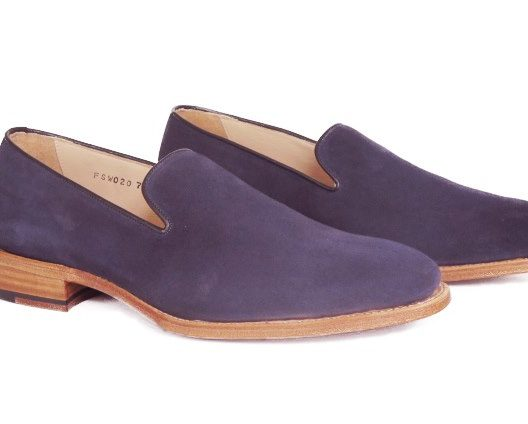 FSW020 – Navy Wholecut Loafers