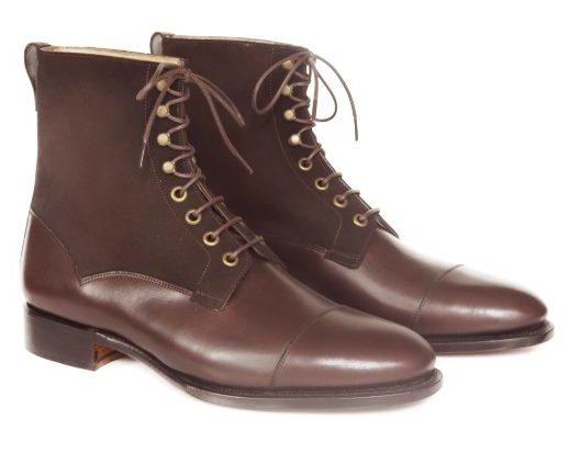 FSW027 – Dark Brown Field Derby Boots