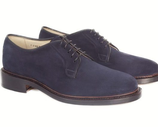 FSW035 – Navy Plain Toe Blucher